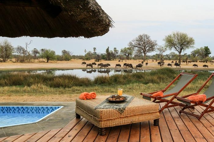 Bomani Tented Lodge Pool Side Views