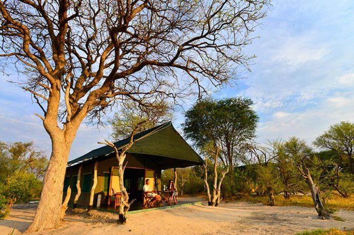 Bomani Tented Lodge Tent Exterior