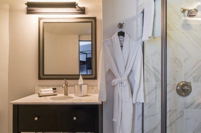 Boston Boxer Bathroom