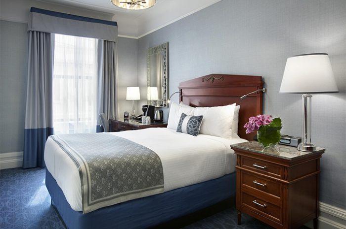 Boston Fairmont Double Bedroom