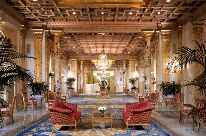 Boston Fairmont Lobby