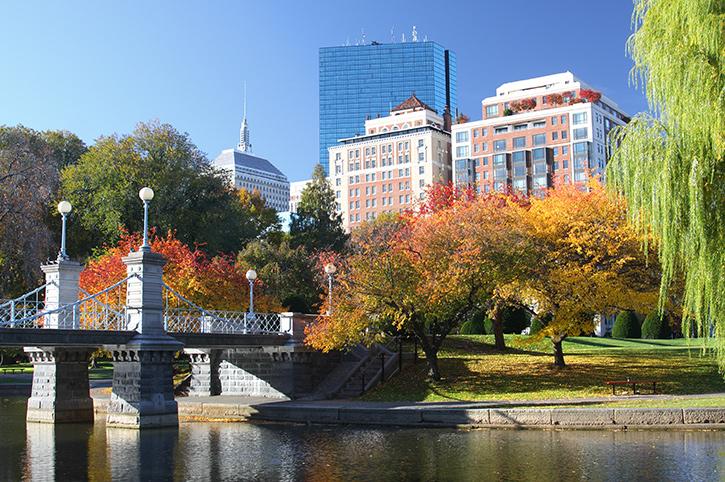Boston Gardens America