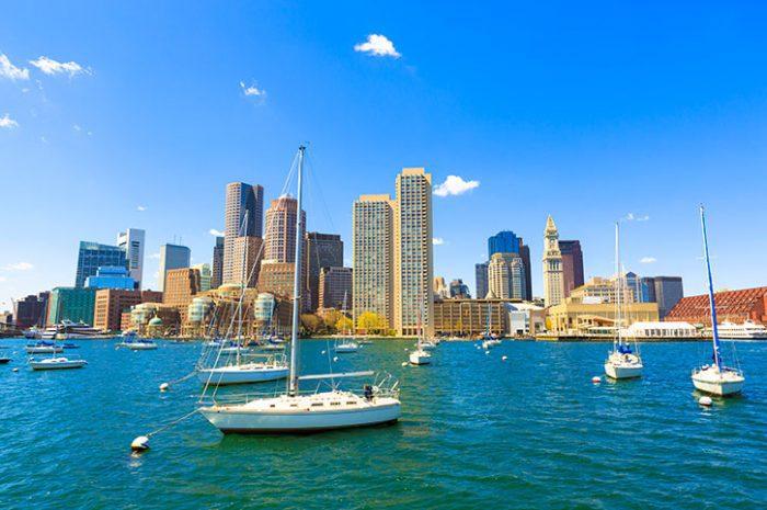 Boston Harbour, USA