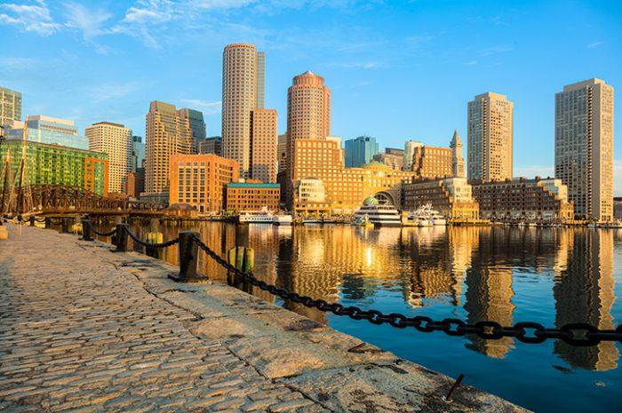 Boston Skyline America