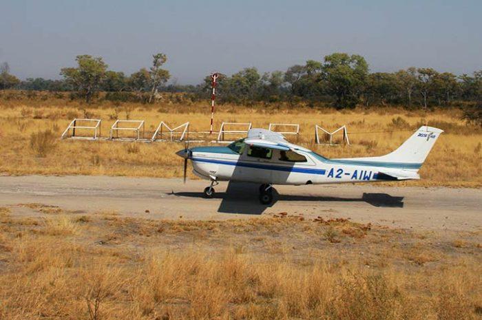 Small aircraft, Botswana