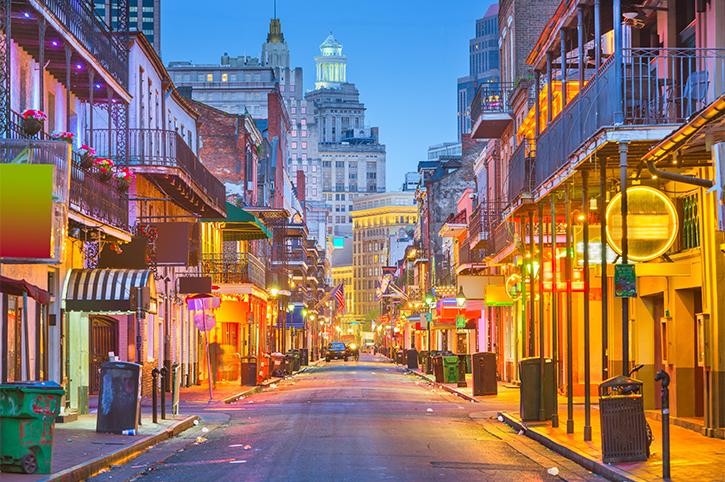 Bourbon St, New Orleans, Louisiana