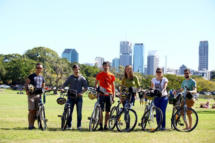 Group Photo, Brisbane by Bike, South Queensland