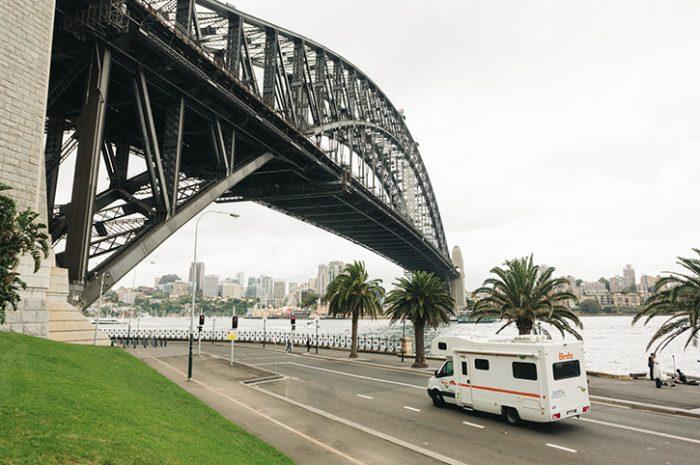 Britz Frontier Under Sydney Harbour Bridge