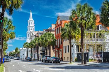 Broad St. in Charleston, South Carolina