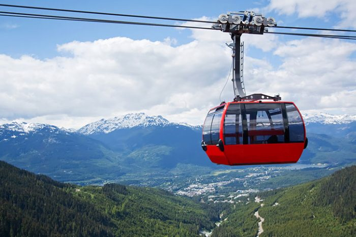 Cable Car Ride, Canada