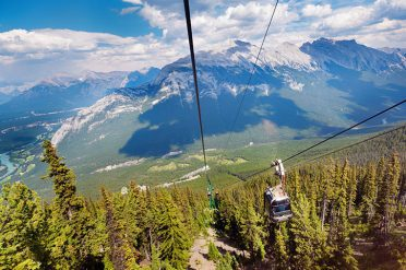 Cable Car Ride, Canada