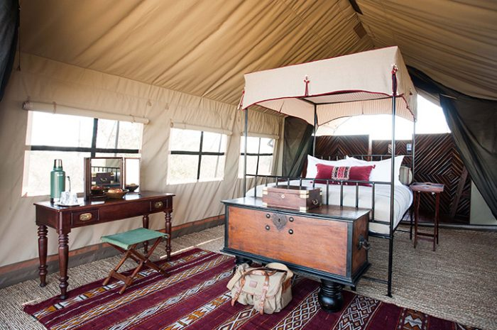 Camp Kalahari Tented Room
