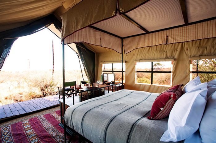 Camp Kalahari Tented Rooms