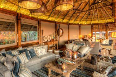 Camp Okavango Lounge