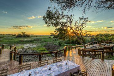 Camp Okavango Outdoor Dining