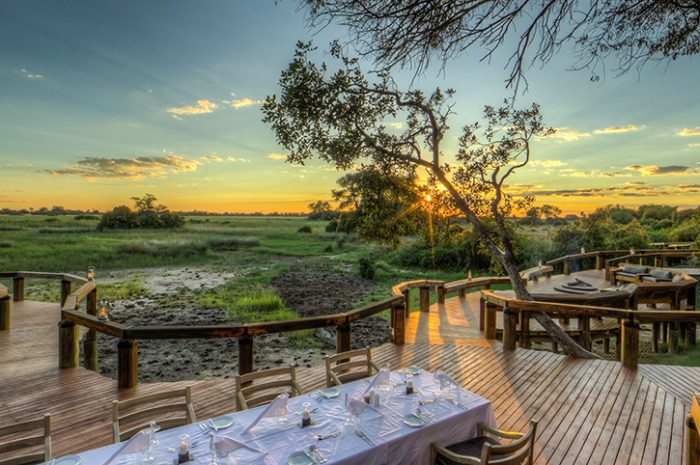 Camp Okavango Outdoor Dining