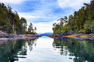 Campbell River near Vancouver Island_