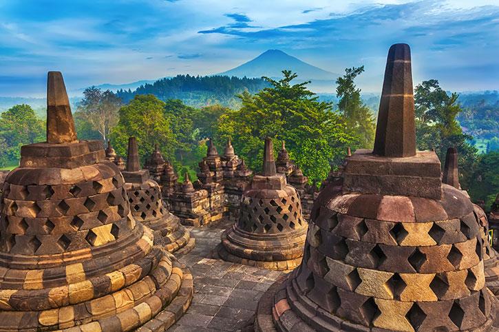Candi Borobudur Java