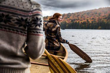 Canoeing In Algonquin, Canada