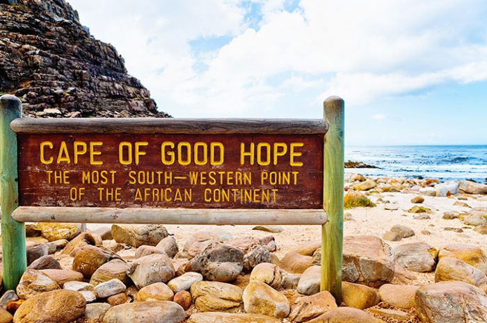 Cape Of Good Hope Sign, South Africa