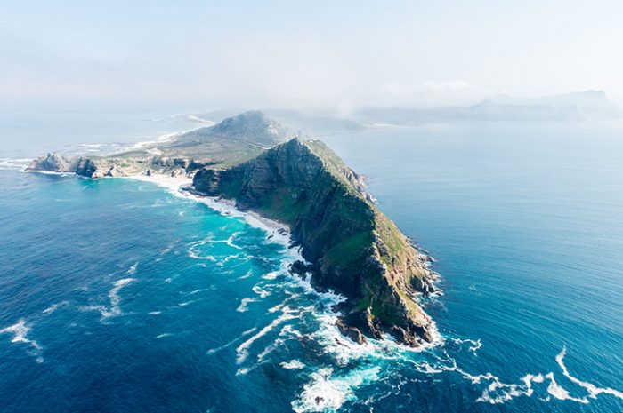 Cape Point From Above, South Africa