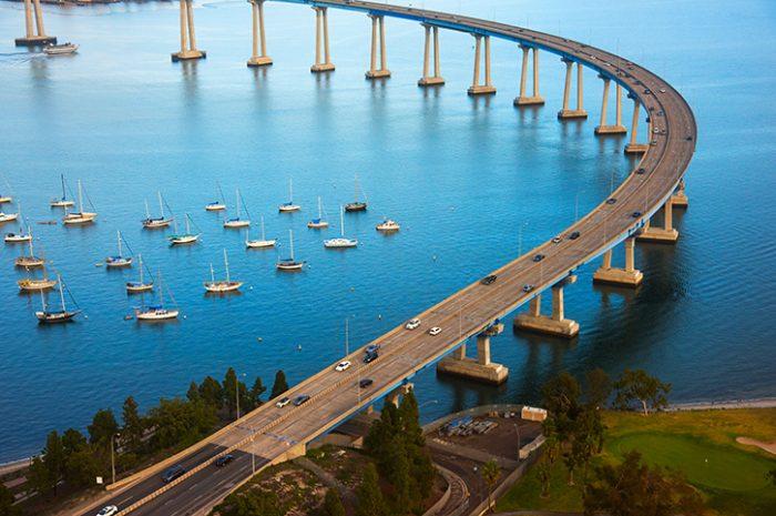 The Coronado Bay Bridge, San Diego