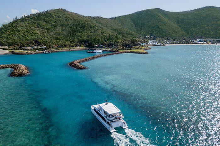 Cataman Transfer to Hayman Island