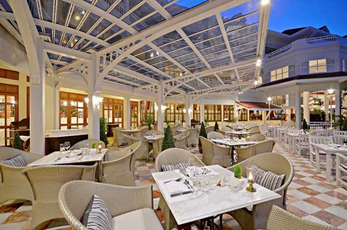 Centara Grand Hua Hin Railway Restaurant