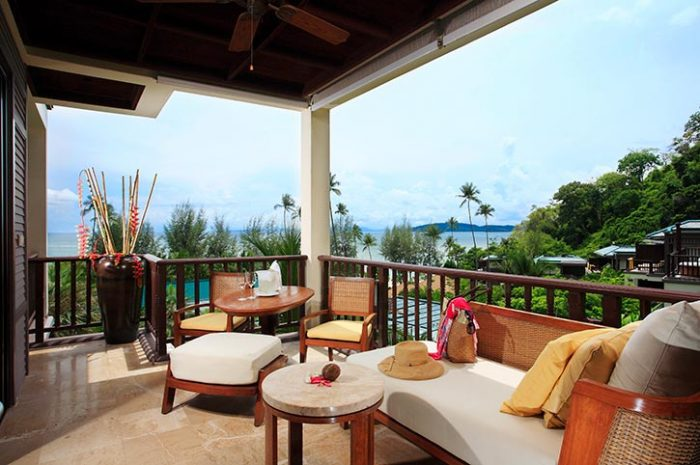 Centara Grand Krabi Premium Deluxe Ocean Facing View