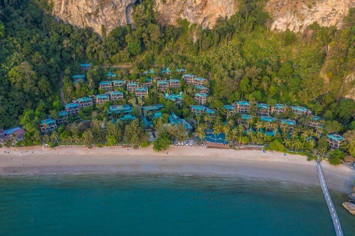 Centara Grand Krabi Resort Aerial View