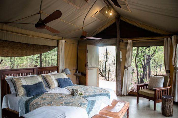 Changa Safari Camp Deluxe Tent