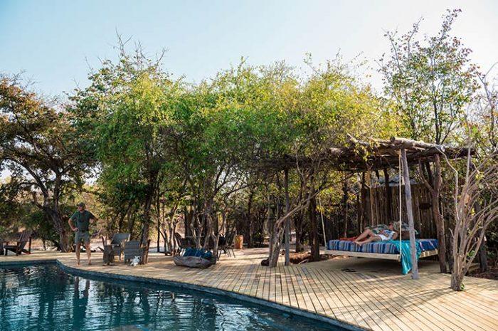 Changa Safari Camp Pool Hangout