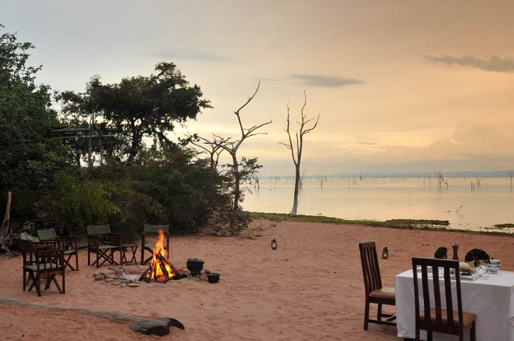 Changa Safari Camp Private Beach