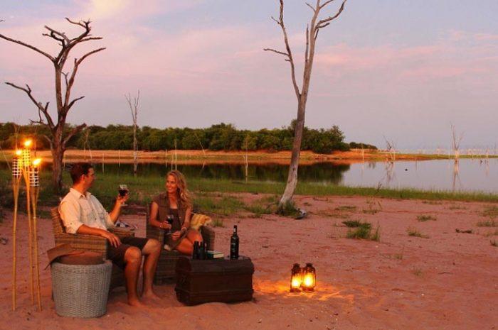 Changa Safari Lodge Beach Drinks