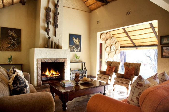 Chapungu Tented Camp Lounge