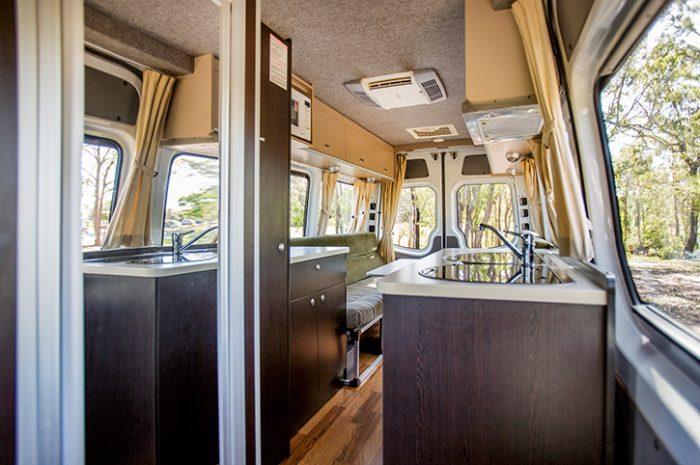 Cheapa 2 Berth Camper Interior