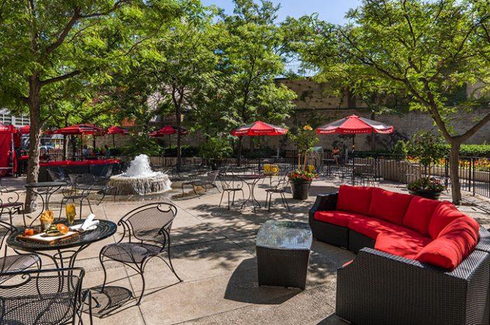 Chelsea Hotel Market Garden Patio