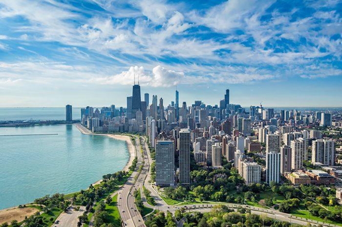 Chicago skyline, USA