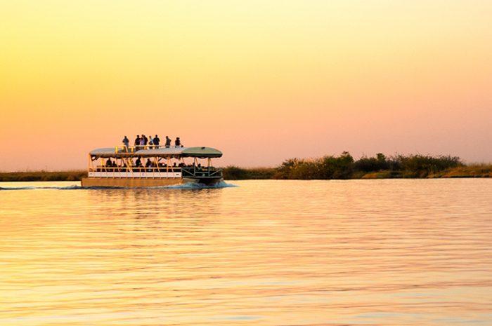 Chobe River cruise, Botswana