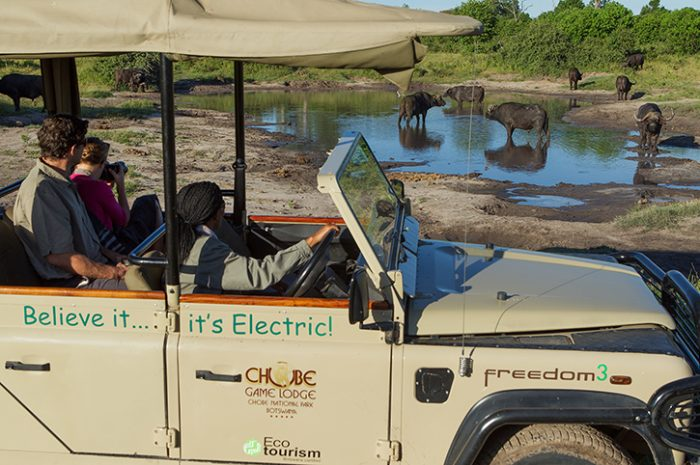 Chobe Game Lodge Electric Vehicles