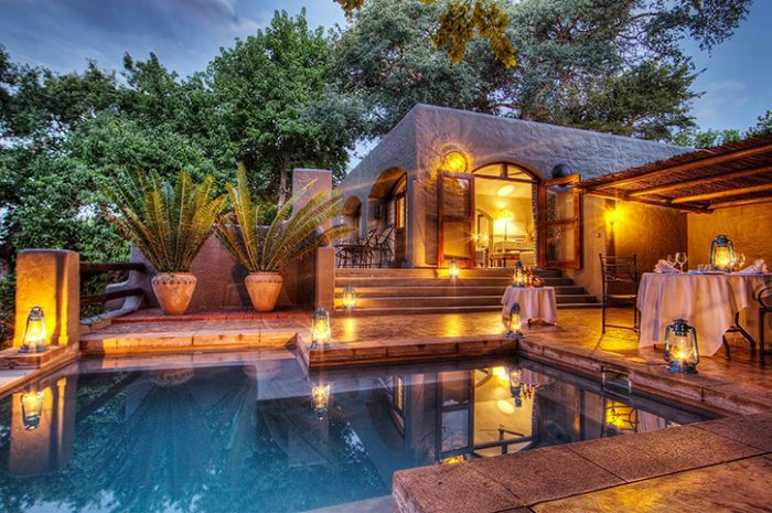 Suite pool, Chobe Game Lodge