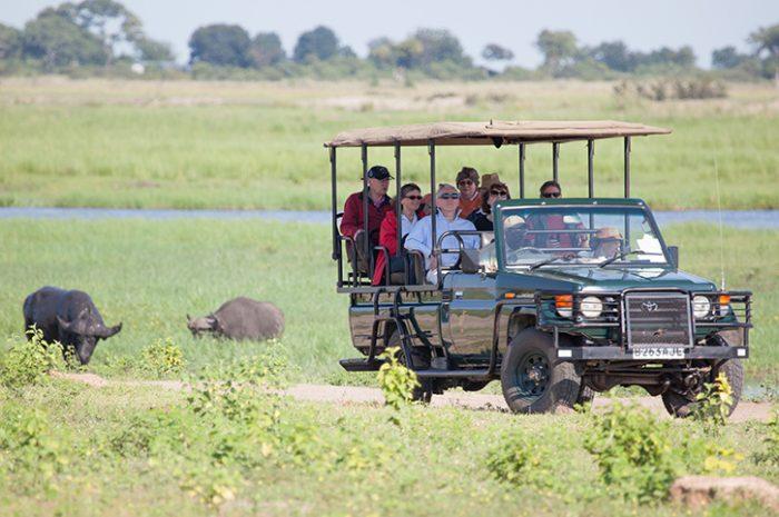 Chobe Safari Lodge Game Vehicles