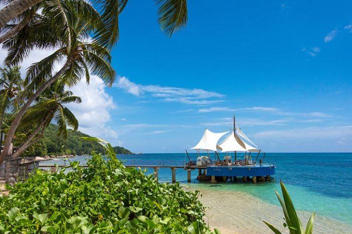 Coco de Mer Over Ocean Pavilion