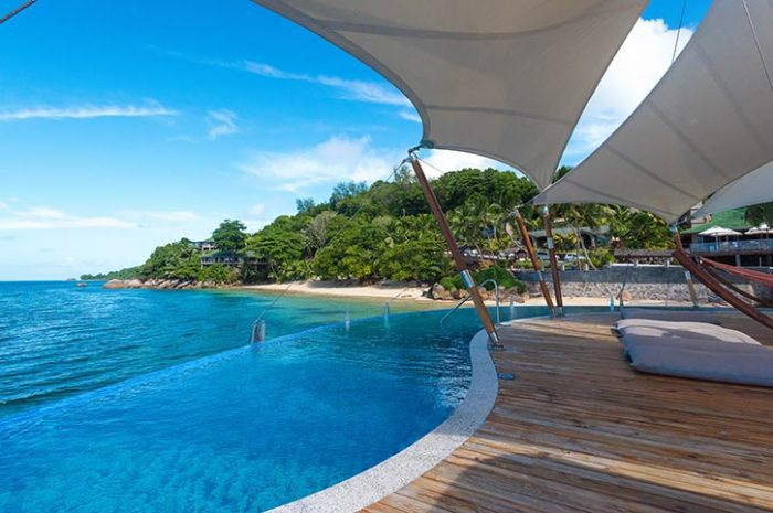 Coco de Mer Over Ocean Pavilion Pool