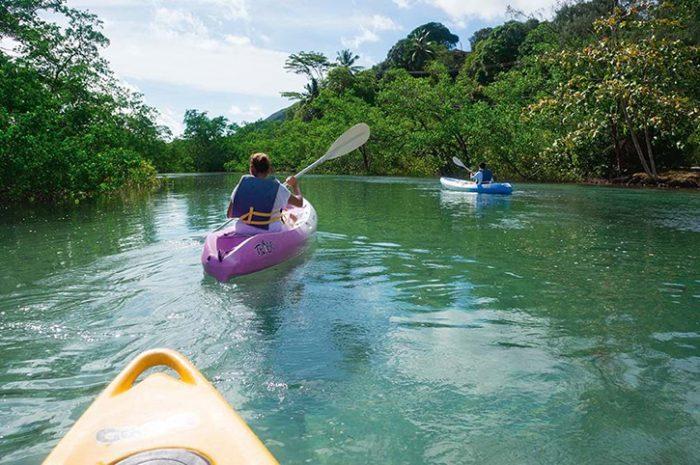 Constance Ephelia Kayaking