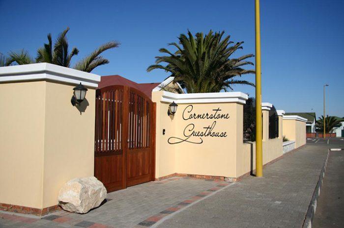Cornerstone Guesthouse Entrance