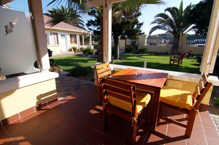 Cornerstone Guesthouse Outdoor Area