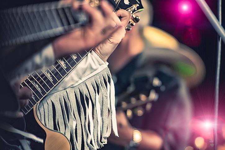 Country Music Guitar Players USA