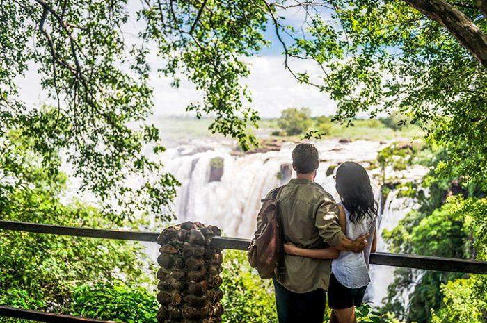 Couple, Victoria Falls