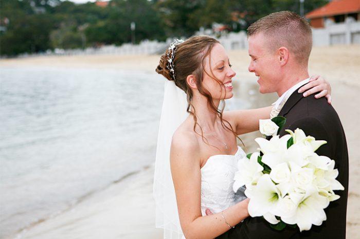Couple at Balmoral Beach